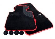 Велюровые коврики Sport Line для BMW F30 3-серия, передние