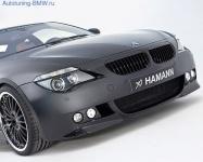 Передний бампер Hamann для BMW E63 6-серия