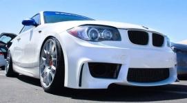Передний бампер 1M-стиль для BMW 1-серия
