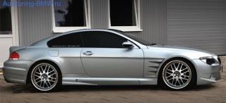 Пороги Prior Design для BMW E63 6-серия