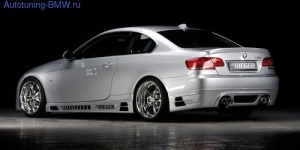 Пороги Rieger для BMW E92 3-серия
