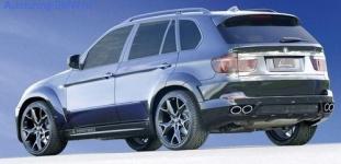 Пороги боковые BMW X5 E70