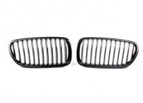 Решетка радиатора BMW F10 5-серия (чёрная)