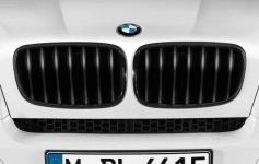 Решётка радиатора BMW X5 E70/X6 E71 (чёрная)