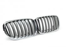 Решётка радиатора BMW X5 E70/X6 E71 (хром-титан)