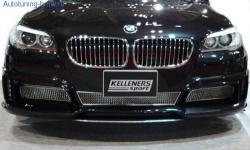 Решётки передней накладки бампера Kelleners для BMW F10