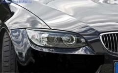 Реснички на фары для BMW E92 3-серия