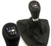 Рукоятка MКПП c кожаным чехлом BMW