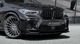 Сплиттер переднего бампера Hamann для BMW X6M G96