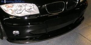 Сплиттер переднего BMW E87 1-серия