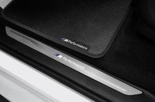 Светодиодные M Performance накладки на пороги BMW X5 F15/X6 F16
