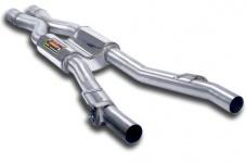 Центральный глушитель Supersprint для BMW F10 5-серия