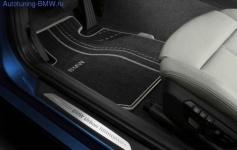 Велюровые коврики Urban Line для BMW F20 1-серия, задние