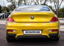 Задний бампер Prior Design для BMW E63 6-серия