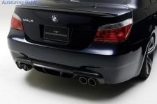 Задний бампер WALD для BMW E60 5-серия