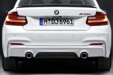 Задний диффузор M Performance для BMW M235i F22