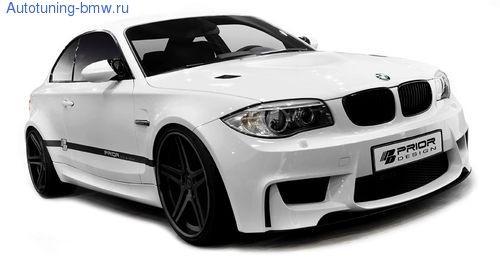 Аэродинамический обвес Prior Design для BMW E82/E88 1-серия