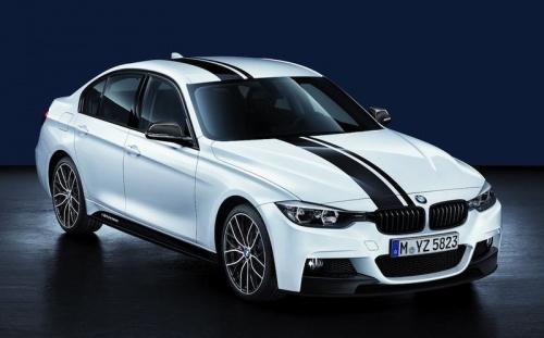 Акцентная полоса M Performance для BMW F30 3-серия