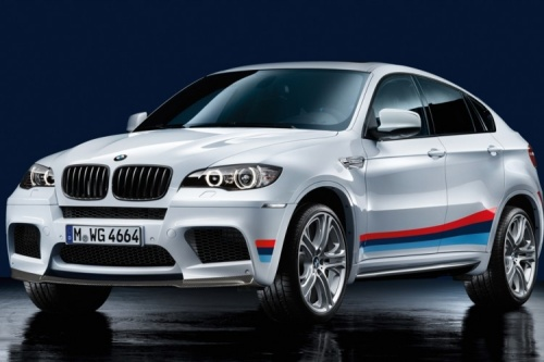 Акцентные полосы M Performance для BMW X6M E71