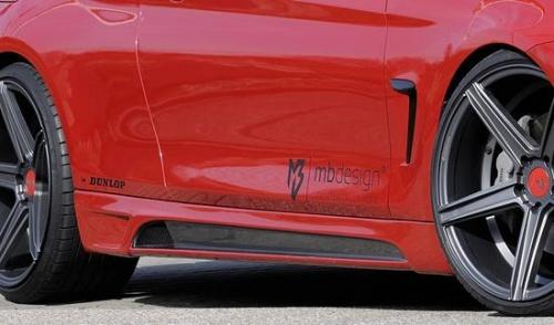 Боковые пороги для BMW F32 4-серия