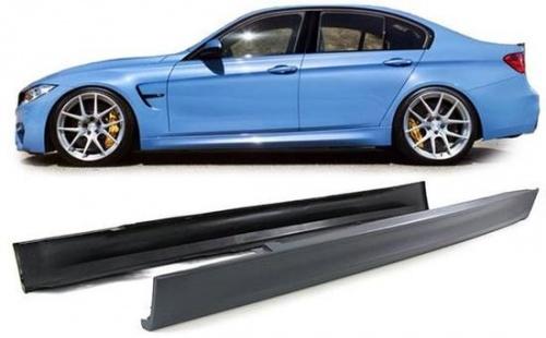 Боковые пороги М3-стиль для BMW F30 3-серия