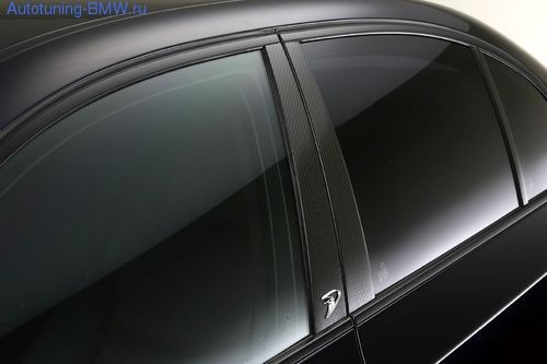 Декоративные накладки на стойки для BMW E60 5-серия