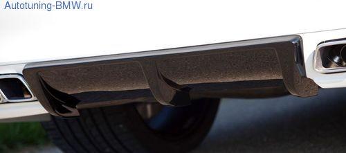 Диффузор заднего бампера BMW F01/F02 7-серия