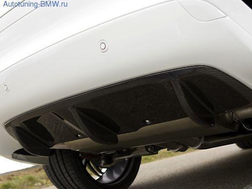 Карбоновый диффузор заднего бампера BMW X6 E71