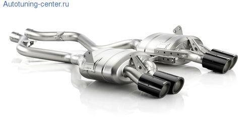 Глушитель Akrapovic Slip-On для BMW M3 E90 3-серия