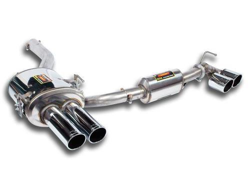 Глушитель для BMW E60 5-серия (раздвоенный выхлоп)