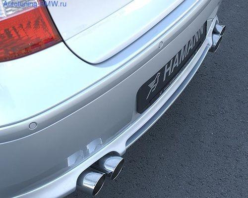 Глушитель Hamann для BMW E87 1-серия