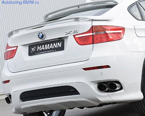 Глушитель Hamann для BMW X6 E71