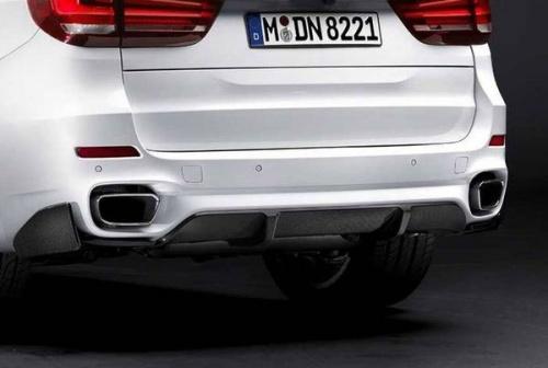 Глушитель M Performance для BMW X5 F15/X6 F16