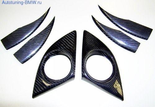 Карбоновые элементы переднего бампера BMW E92 3-серия
