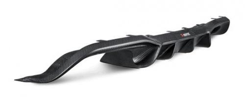 Карбоновый диффузор Akrapovic для BMW M2 F87