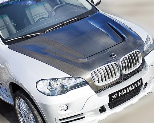 Карбоновый капот Hamann для BMW X5 E70