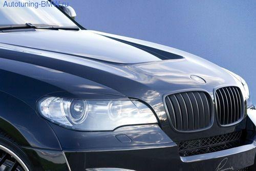 Карбоновый капот для BMW X5 E70/X6 E71