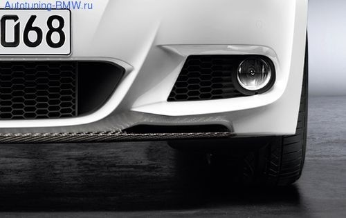 Карбоновый сплиттер BMW Performance для E92 3-серия
