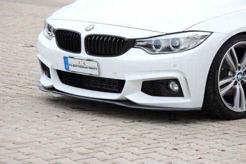 Карбоновый сплиттер Kerscher для BMW F32 4-серия