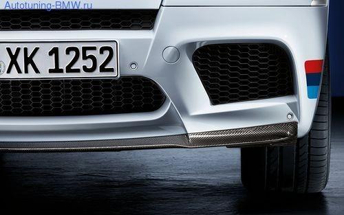 Карбоновый спойлер BMW Performance для BMW X5M E70/X6M E71