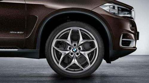 Комплект литых дисков BMW Double-Spoke 215 Ferric Grey