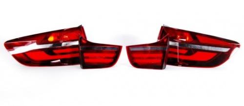 Дооснащение задними фонарями Black Line BMW X6 E71