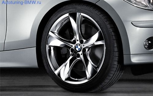 Комплект литых дисков BMW Star-Spoke 311 (хром)