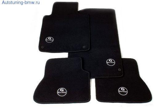Комплект ножных ковриков G-POWER для BMW E87 1-серия