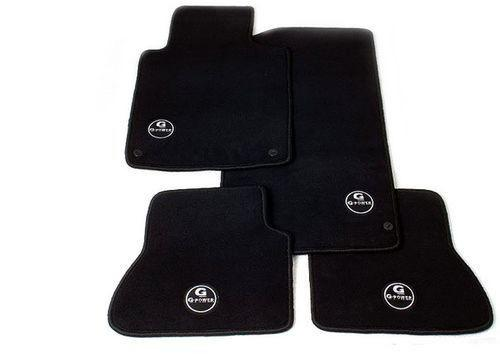 Велюровые коврики G-POWER для BMW E90/E92 3-серия