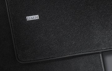 Комплект велюровых ножных ковриков BMW F10 5-серия