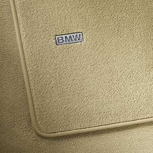 Велюровые ножные коврики для BMW F10 5-серия