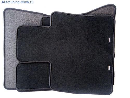 Комплект велюровых ножных ковриков для BMW X6 E71
