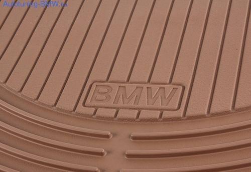 Комплект задних ножных ковриков для БМВ Х5 Е70