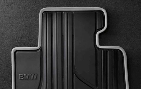 Задние ножные коврики для BMW F22 2-серия. Urbanline